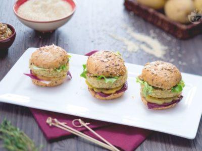 Quinoa Mini Burger